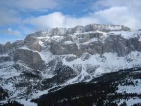 Ski dans la sella ronda massif de la sella