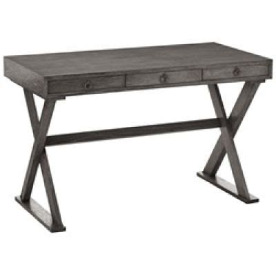 cain limed oak desk gray arteriors lighting