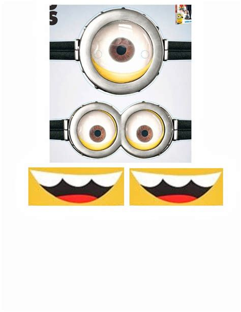 minion mask template best 25 minion template ideas on despicable