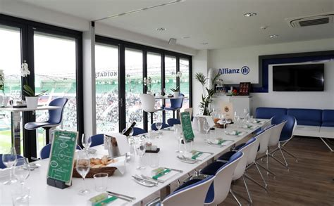 Audi Vip Lounge Allianz Arena by Allianz Stadion Business Vip