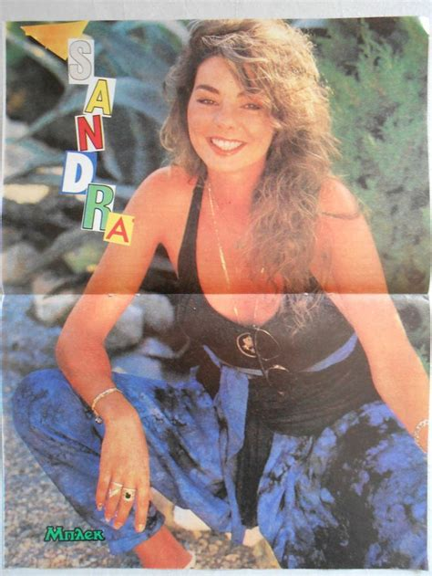 rare 80 s mix rare greek clipping poster sandra cretu from the 80s 90s