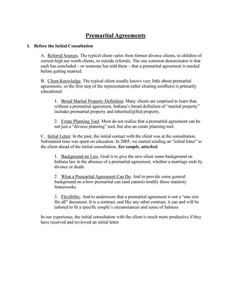 prenup template 30 prenuptial agreement sles forms template lab
