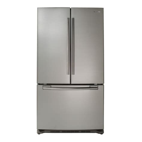 lowes samsung door refrigerator shop samsung 25 8 cu ft door refrigerator with