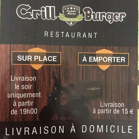 Grill Saloon Albi by Grill Burger Home Albi Menu Prices