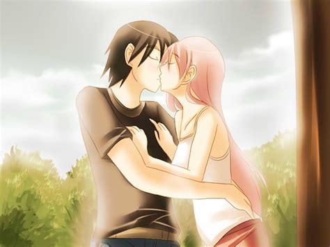 wallpaper cartoon kiss missing beats of life happy kiss day 13th february 2014
