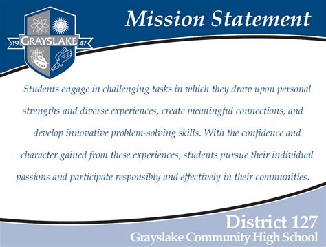 Lake County Regional Office Of Education by Grayslake Community High School District 127 Mission