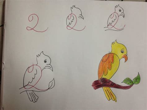 drawing images for kids 20 fun kids drawings with number as a base