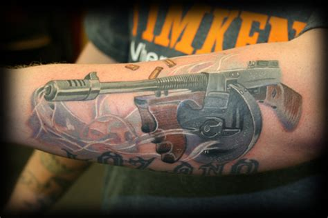 tommy gun tattoo gun tattoos hubpages