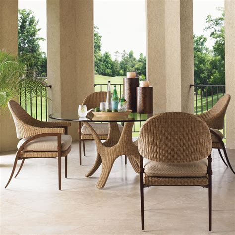 bahama outdoor dining set bahama aviano 4 person wicker patio dining set bbq