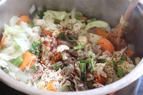 Winter Detox Soup Plan by Winter Detox Cabbage Soup Glow Kitchen