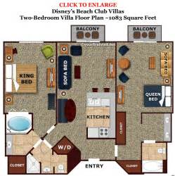 Disney Treehouse Villa Floor Plan Review Disney S Beach Club Villas Continued