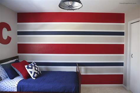 Pottery Barn Striped Bedding Superhero Room I Heart Nap Time