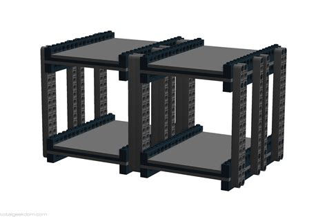 Drive Storage Rack by Lego Server Systems Total Geekdom