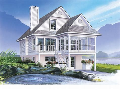 coastal home designs plan 027h 0140 find unique house plans home plans and