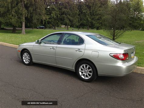 lexus sedan 2004 2004 lexus es330 base sedan 4 door 3 3l
