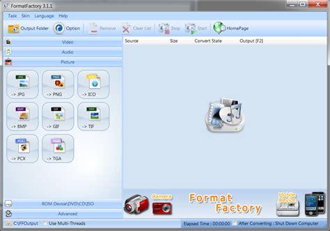 format factory full türkçe indir gezginler video m 252 zik ve resim formatını değiştirme program indir
