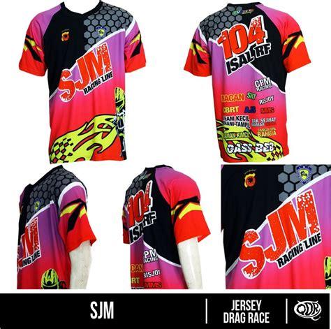 design jersey drag jersey drag race sjm bahan dry fit printing