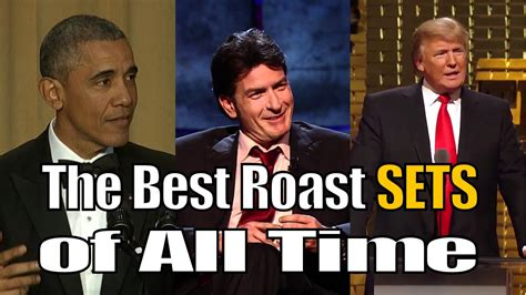 best of all time the best comedy central roasts of all time