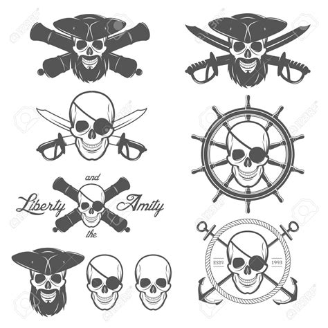 skull pirate tattoo design 54 pirate designs and ideas