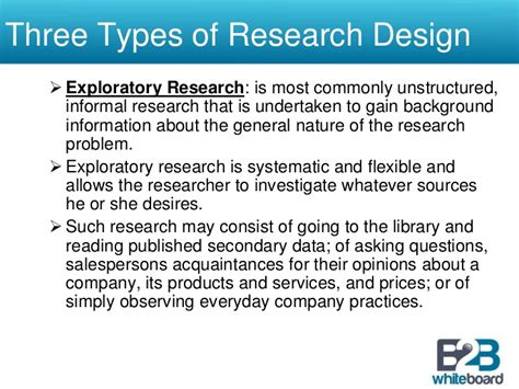 design definition research research design sle research paper research design