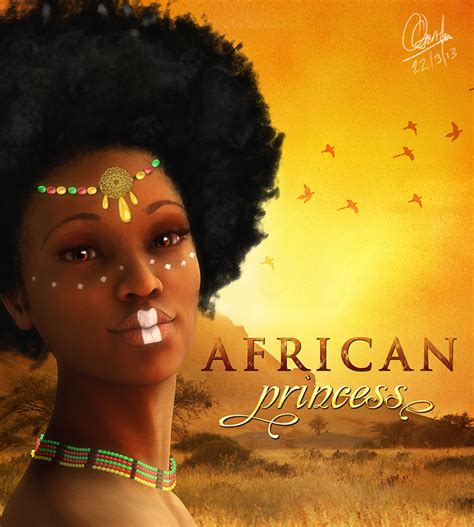 african american warrior princess african princess by andrewgentles on deviantart