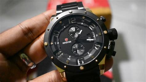 Jam Tangan Wanita Expedition E6381 Chrono Silver Black Original jam tangan pria expedition timepiece e6381 black rosegold silent review hd