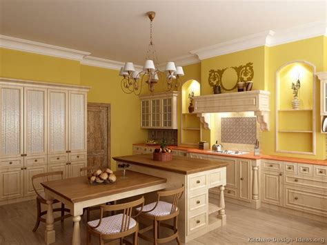 yellow and white kitchen cabinets pictures of kitchens traditional whitewashed cabinets