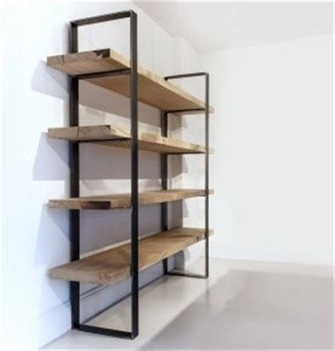 industrial chic bookcase industrial bookcases south
