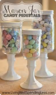 Pedestal Apothecary Jars Diy Mason Jar Candy Pedestals Diy Mason Jars Diy Candy