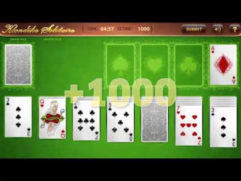 Pch Klondike Solitaire - pchgames klondike solitaire gold tips tricks youtube