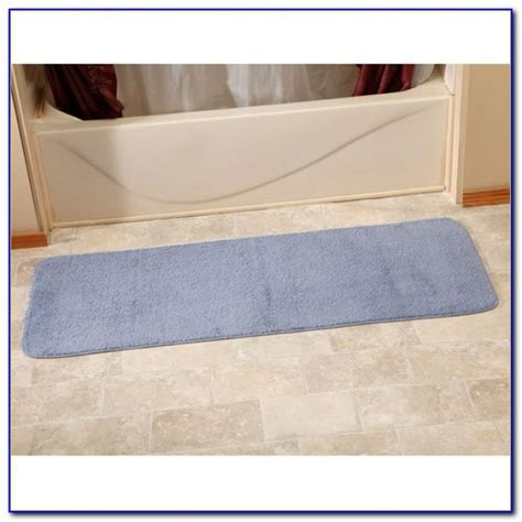 bathroom rug runner bathroom rug runner 24 215 60 rugs home design ideas