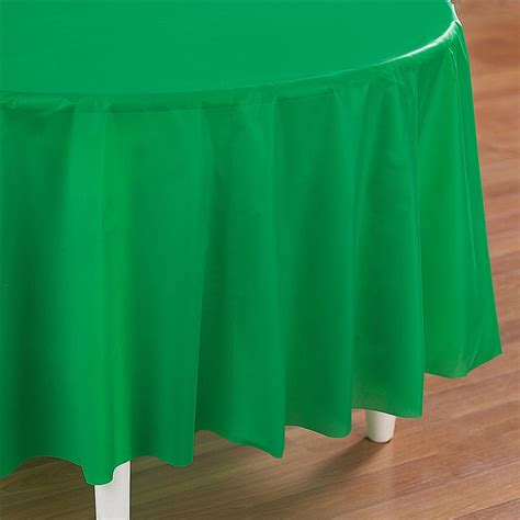 Green Table Cloth by Green Plastic Table Cover
