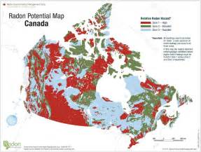 radon potential map canada maps interior radiation protection services