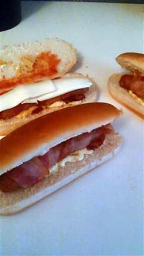 recette de hot dog bacon mozzarella saucisse enlarde