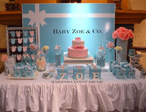 And Co Decorations by Baby Co Baby Shower Baby Shower Quot Baby Zoe Co