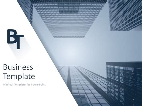 Minimalist Business Powerpoint Template Business Template For Powerpoint