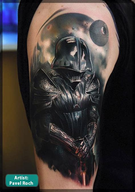 best star wars tattoos darth vader wars tattoos best wars tattoos