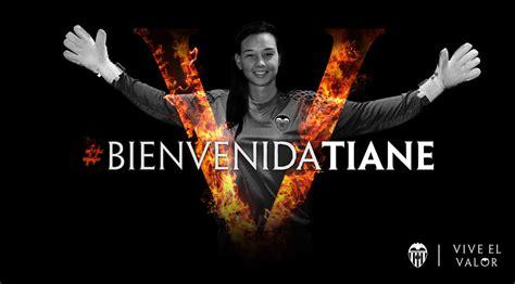 imagenes graciosas valencia cf chilean keeper tiane endler signs for vcf women