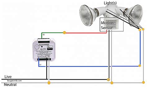 circuit diagram of motion sensor light switch wikishare