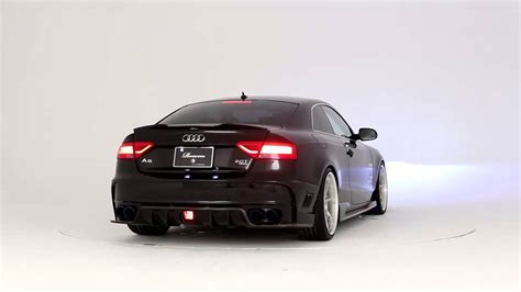 Audi A5 Facelift 2015 by 2013 Audi A5 S5 Facelift Rowen Style Complete Kit