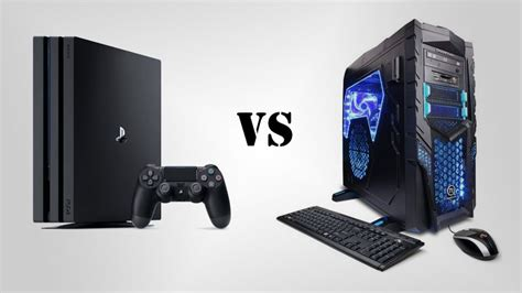 next console vs pc playstation 4 pro versus gaming pc south pricing