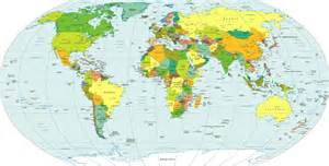 Big Map Of The World by Large Detailed Political Map Of The World Large Detailed