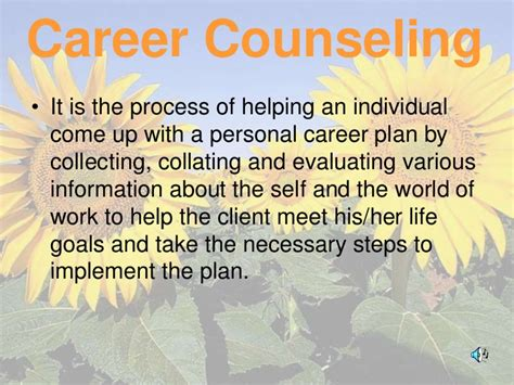 career counselling career counseling presentation