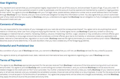 collection terms of service template photos daily
