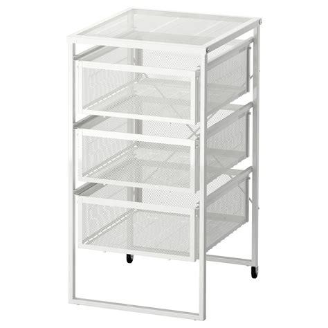 White Drawer Unit by Lennart Drawer Unit White Ikea