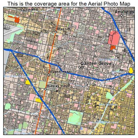 california map garden grove aerial photography map of garden grove ca california