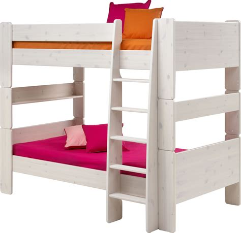 steens bunk beds white pine bunk beds steens for
