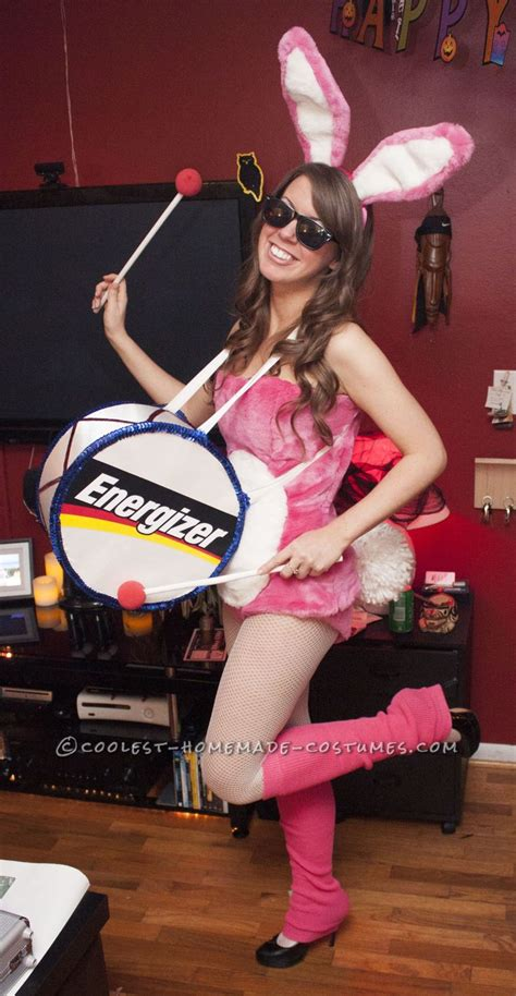 Coolest Handmade Costumes - cutest energizer bunny costume coolest