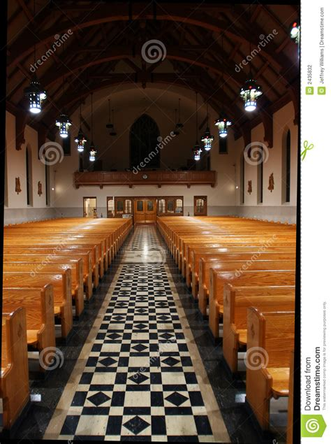 church aisle stock photography image