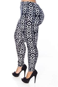 plus size patterned leggings patterned plus size leggings the else